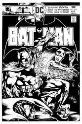 Batman 274: Cover Recreation - BW Drawing