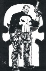 Punisher - BW Print