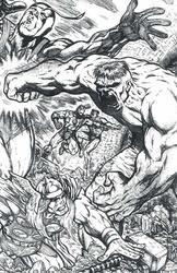 Avengers - BW Print