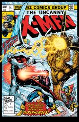 X-Men 121: Cover Recreation - Color Print
