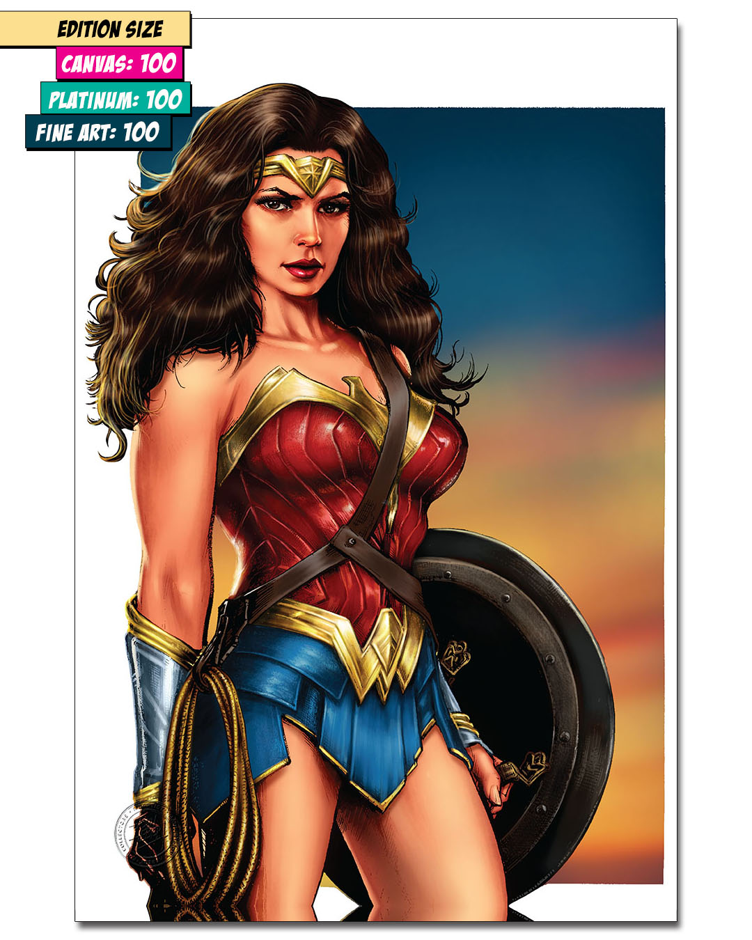 WONDER WOMAN: STRONG AND TRUE