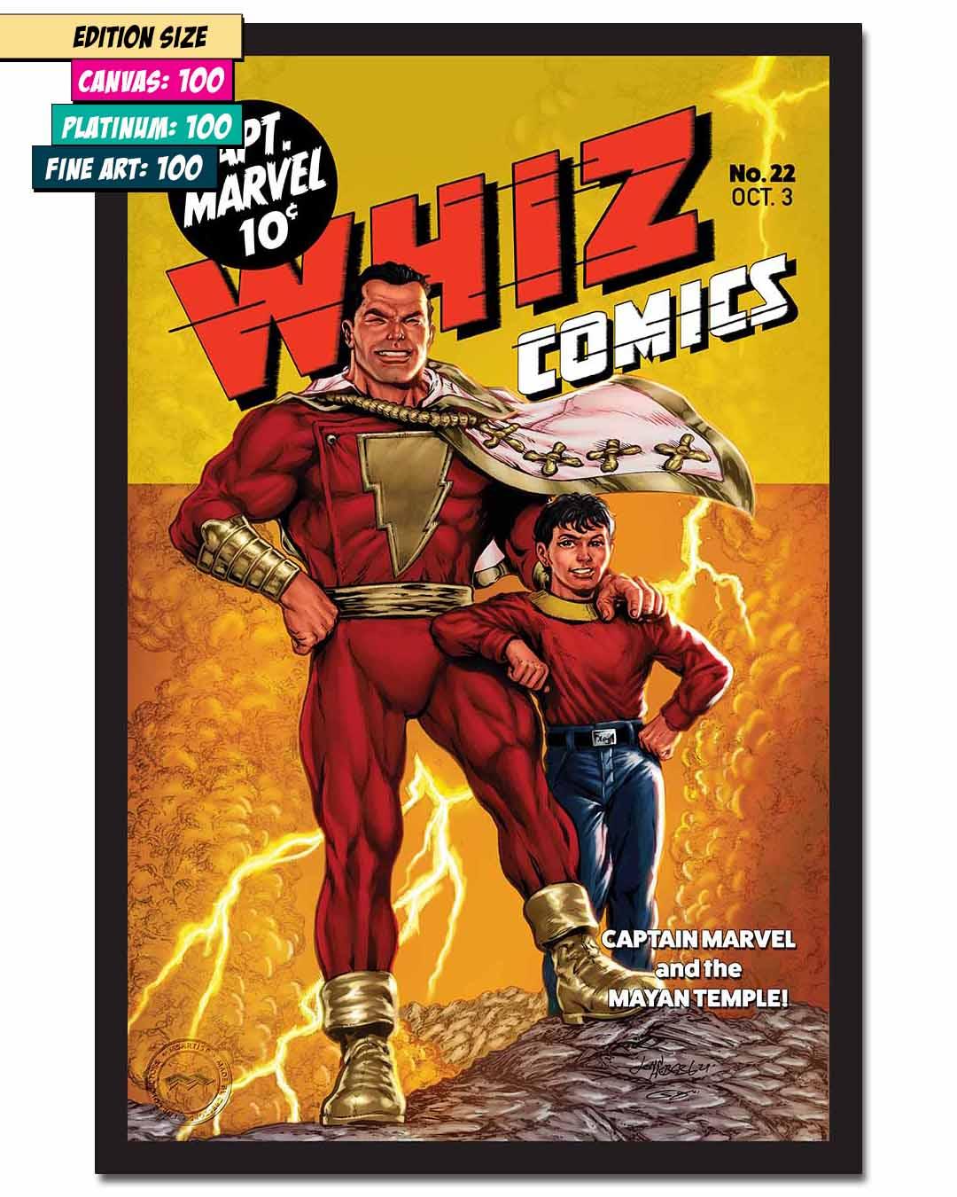 WHIZ COMICS #22: RECREATION